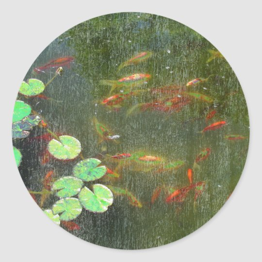 Fish Pond Sticker