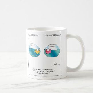 FISH POO Mug by April McCallum