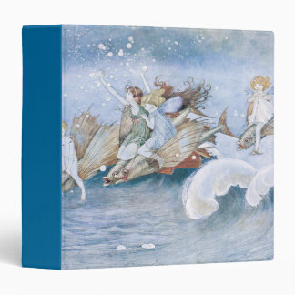 Fish Races with Elves and Fairies 3 Ring Binder