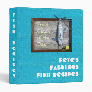 Fish Recipes Binder