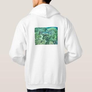 Fish roaming the reef hoodie