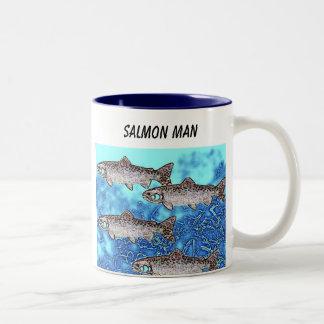 Fish-Salmon Man Mug