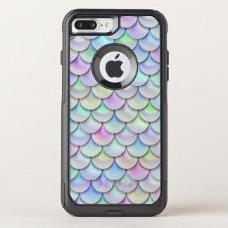 Fish Scales Pattern Multi 2 OtterBox Commuter iPhone 8 Plus/7 Plus Case