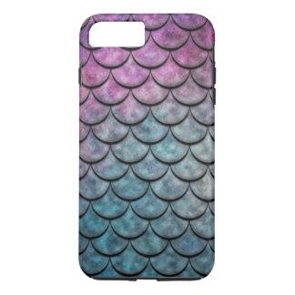 Fish Scales Pattern Multi Color 4 iPhone 8 Plus/7 Plus Case