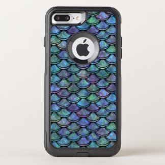 Fish Scales Pattern Multi Color 5 OtterBox Commuter iPhone 8 Plus/7 Plus Case
