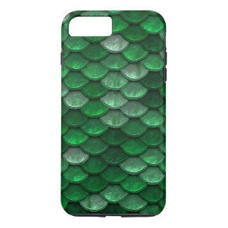 Fish Scales Pattern Shimmer Greens iPhone 7 Plus Case