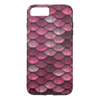 Fish Scales Pattern Shimmer Pinks iPhone 7 Plus Case