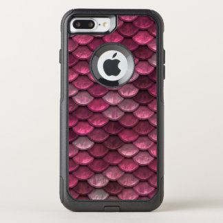 Fish Scales Pattern Shimmer Pinks OtterBox Commuter iPhone 7 Plus Case