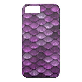 Fish Scales Pattern Shimmer Purples iPhone 8 Plus/7 Plus Case