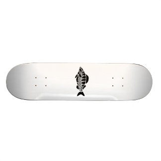 Fish Silhouette Skate Board