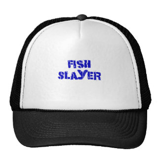Fish Slayer Mesh Hat