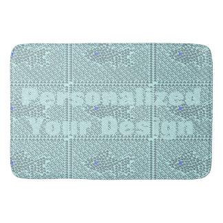 Fish Stitch Bathroom Mat
