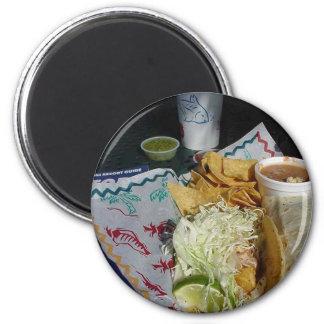 Fish Taco Food Mexican Salsa Magnet