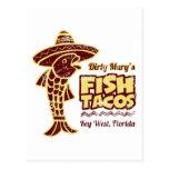Fish Tacos Postcard