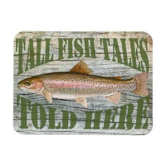 Fish tales magnet
