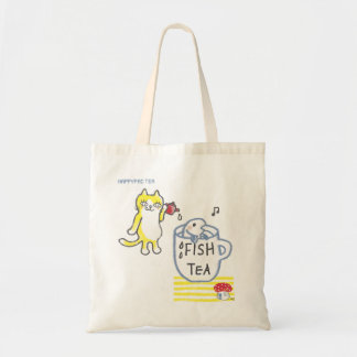 FISH TEA TOTE BAG