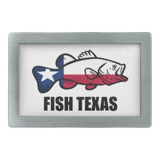 Fish Texas Belt Buckle
