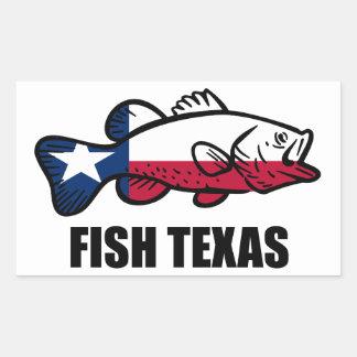 Fish Texas Sticker