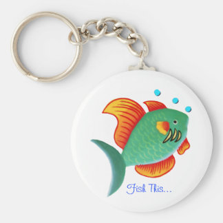 Fish This Keychain