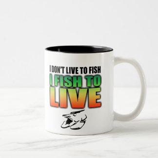 Fish to Live Mug