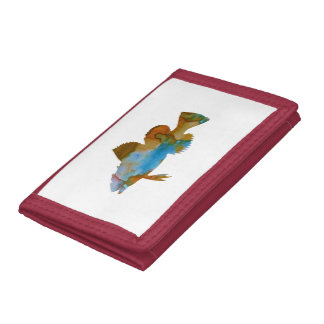 Fish Trifold Wallet