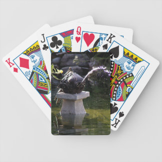 Fish Water Feature Bicycle Playing Cards