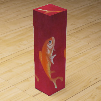 fish wine box