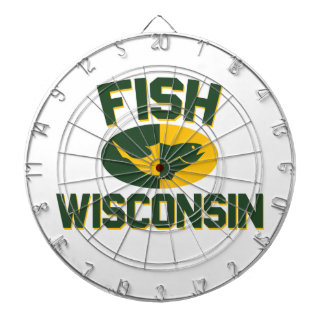 Fish Wisconsin Dartboard