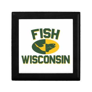 Fish Wisconsin Gift Box