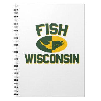 Fish Wisconsin Notebook