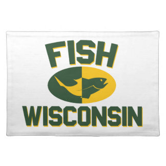 Fish Wisconsin Placemat