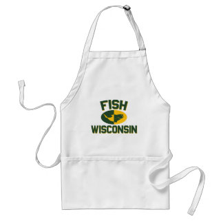 Fish Wisconsin Standard Apron