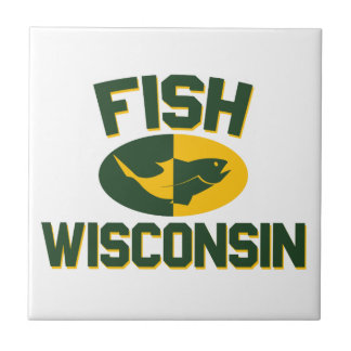 Fish Wisconsin Tile