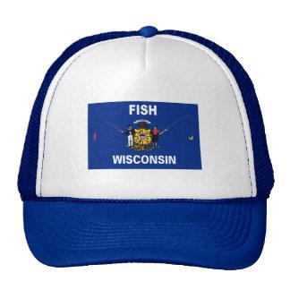Fish Wisconsin Trucker Hat