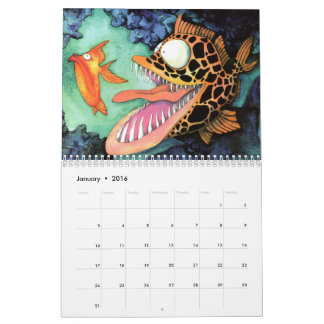 Fish With Attitude Collection by Mike Quinn Calendars