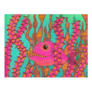 Fish with Big Teeth! Postcard