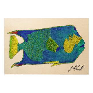 Fish Wood Wall Art