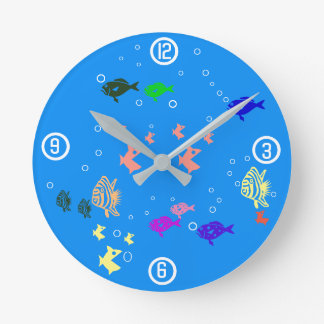 Fishbowl Wallclocks