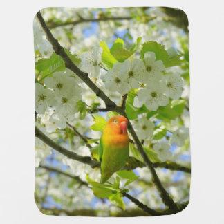 Fishcer's Lovebird Baby Blanket