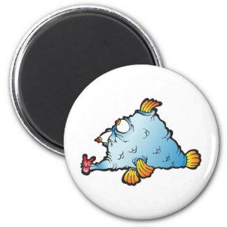 Fishee Fishee 2 Inch Round Magnet