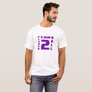 Fisher Can Ball 2 Graphic Men's T-shirt