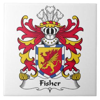 Fisher Family Crest Tile