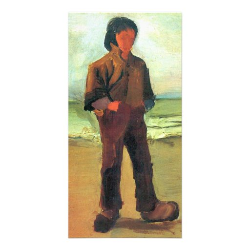 Fisher on the shore by Vincent van Gogh Photo Card