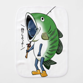 Fisherman 2 English story Kinugawa Tochigi Burp Cloth