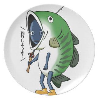Fisherman 2 English story Kinugawa Tochigi Plate