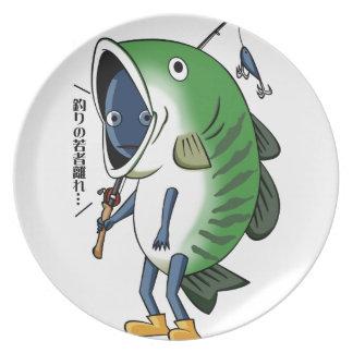 Fisherman 3 English story Kinugawa Tochigi Plate