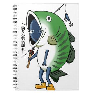 Fisherman 3 English story Kinugawa Tochigi Spiral Notebook