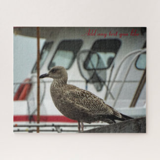 Fisherman Boat Seagull Puzzle