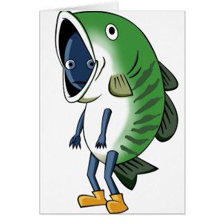 Fisherman English story Kinugawa Tochigi Card