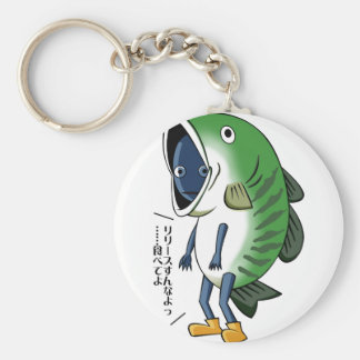 Fisherman English story Kinugawa Tochigi Keychain